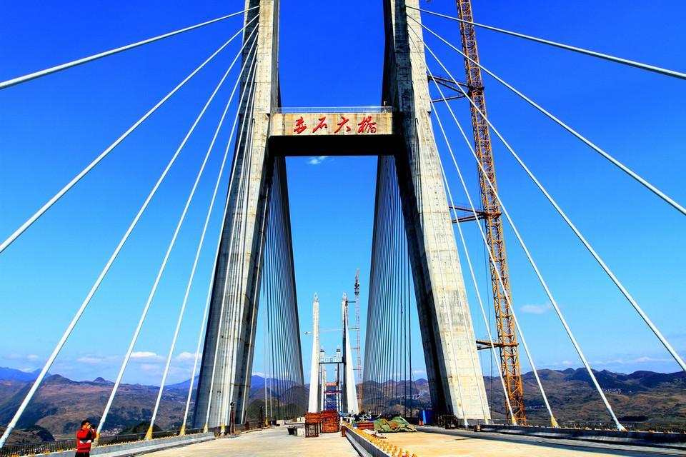汝郴高速赤石大桥ballbet体育下载工程
